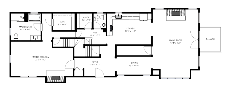 Matterport 3D Virtual Tours - 2D Schemetic Floor Plans